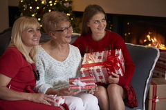 Поколение 3 женщин Стоковое Изображение RF