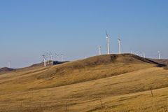 Поколение энергии ветра Стоковое фото RF