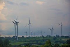 Поколение энергии ветра Стоковые Фото