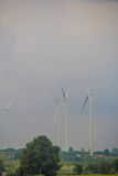 Поколение энергии ветра Стоковые Фотографии RF
