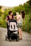 Поколения - счастливые совместно Стоковая Фотография RF