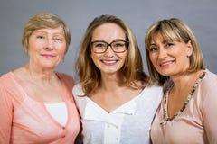 3 поколения с поразительным сходством Стоковое Изображение