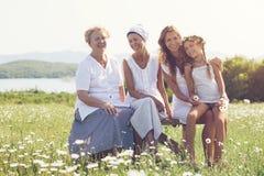 4 поколения Стоковое фото RF
