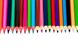 покрасил много карандашей Стоковое фото RF