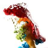 Покрасьте выплеск Стоковое фото RF