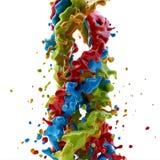 Покрасьте выплеск стоковое изображение