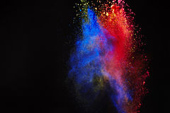 покрасьте выплеск стоковые изображения rf
