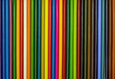 покрасьте карандаши установлено Стоковые Изображения
