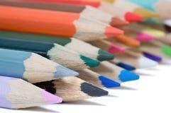 покрасьте карандаши Стоковое Изображение