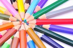 покрасьте карандаши Стоковые Фото