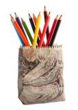 покрасьте карандаши различным Стоковое Изображение RF
