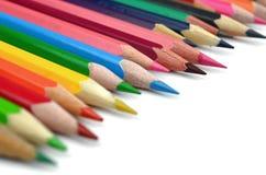 Покрасьте карандаши Стоковые Фотографии RF