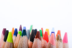 Покрасьте карандаши Стоковое Фото