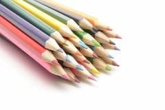 Покрасьте карандаши стоковые изображения rf
