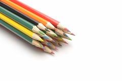 Покрасьте карандаши стоковое изображение rf