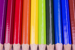 Покрасьте карандаши Стоковая Фотография