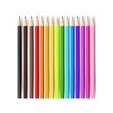 Покрасьте карандаш на белой предпосылке с иллюстрацией 001 вектора иллюстрация вектора