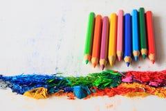 покрасьте карандаш Стоковое Изображение