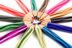 покрасьте карандаш Стоковые Изображения