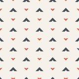 покрасьте картину безшовной Мотив стрелок абстрактный minimalist предпосылки иллюстрация вектора