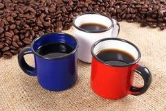 Покрасьте кофе Стоковое Фото