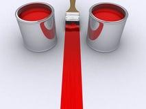 покрасьте красный цвет Стоковые Фотографии RF