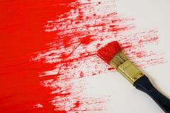 покрасьте красный цвет Стоковое Изображение