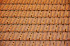 покрасьте крышу красного цвета много частей картины Стоковые Фотографии RF