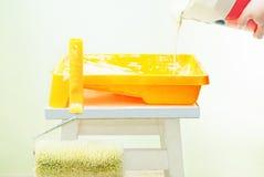 покрасьте лить Стоковые Фотографии RF