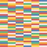 Покрасьте мозаику прямоугольника современный иллюстрация штока