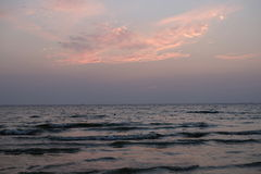 Покрасьте небо и покрасьте море Стоковое Изображение RF