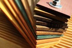 покрасьте образцы деревянной Стоковые Изображения
