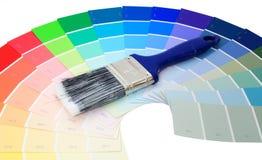 покрасьте образцы Стоковое фото RF