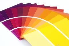покрасьте образцы Стоковое Изображение RF