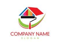 Покрасьте логотип компании Стоковая Фотография