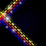 Покрасьте польностью абстрактный шаблон предпосылки Стоковое фото RF