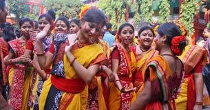 покрасьте празднество индусской Стоковое Фото