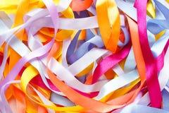 Покрасьте предпосылку лент абстрактную Стоковое Изображение RF