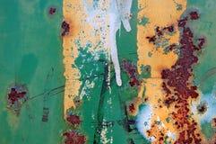 покрасьте ржавчину Стоковое Фото