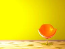 покрасьте самомоднейший желтый цвет теней Стоковые Фотографии RF