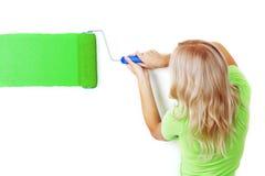покрасьте стену стоковое фото rf