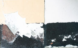 Покрасьте стены шелушения Стоковое Изображение RF