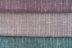 покрасьте текстуру образцов ткани multi стоковая фотография rf