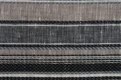 покрасьте текстуру образцов ткани multi стоковые изображения rf