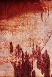 Покрасьте текстуру ржавчины Стоковые Фото