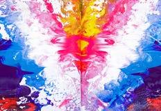 покрасьте текстуру Стоковое Изображение