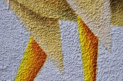 Покрасьте ткань текстурированную предпосылкой покрашенную Стоковые Фотографии RF