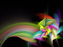покрасьте цветок multi иллюстрация вектора