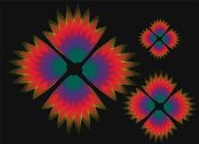покрасьте цветок multi Стоковая Фотография RF