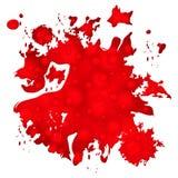 Покрасьте шаблон середин предпосылки красочный и брызнул Стоковое Изображение